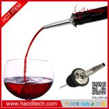 HD-DJ0008 Liquor Pour Stainless Steel Classic Bottle Speed Pourers with Tapered Spout Aerator