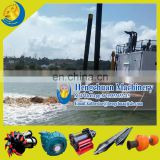 China Widely Used HCCSD-300 (16/14 Inches) Cutter Suction Sand Mining Dredger for Sand Mining