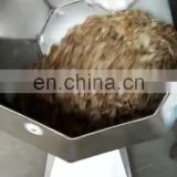 Octagonal Snack Food Flavoring Machine disk Fried Peanuts  drum Potato Chips Seasoning Machine