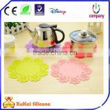Non Slip Flexible Durable Heat Resistant Silicone Pot Holder/ Silicone Trivet / Coaster /