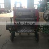 livestock forage square rice straw Baling Machine to store silage