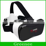 VR Case 5 Plus 3D Virtual Reality Headset Glasses For Smartphones Compatible With Smartphone which screen size from 3.5 Inch to