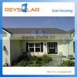 aluminum solar power mounting metal tile roof solar mount system roof energy mount system