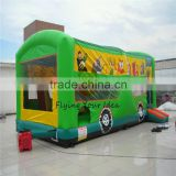 2016 inflatable cute cartoon bouncer ,/ inflatable castle playground game, inflatableslide bouncer