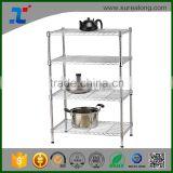 SUREALONG High Quality Home Storage Kitchen Organization Metal Wire Shelving