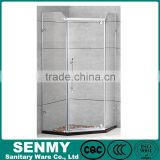 factory temper fashional glass steam shower room