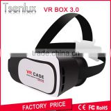 OEM Factory Virtual Reality vr box 3d glasses with Bluetooth Controller google cardboard glasses 2d to 3d converter box