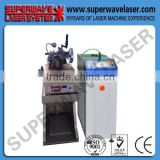 Higg frequency fiber laser welding machine,small size fiber transmission laser welding machine with chain making machine