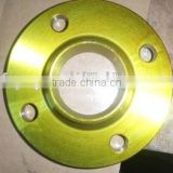 yellow anti-oil Plated Carbon Steel Slip On Flanges ansi/asme b16.5