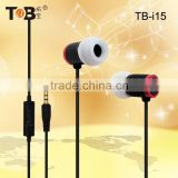 New design with high performance miblephone earphones with mic, earphone MP3 music links,telephone handset