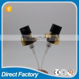 18MM/20MM perfume sprayer with the black plastic actuator , half aluminum crimp pump for perfume