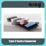 Type C to USB B male Connector, Type C 3.1 OTG adapter, Male to female coupling connector