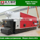 10 ton pressure 1.25 MPa 13 bar 13 kg water tube biomass boiler, double drum dual drum biomass fired steam boiler