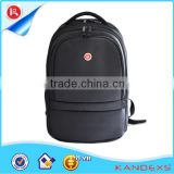 fashion black laptop bags with convenience urbanization office bags with trolley Guangdong office supplies