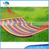 Outdoor camping canvas hammock swing bed