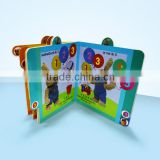 high quality children 3d pop up 4C printing board book printing on demand