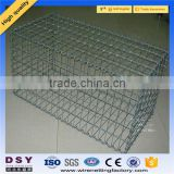 Trade assurance Factory price galvanized gabion basket/box for sale used for hesco barrier 2-6mm wire 0.5-2m size