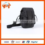 New Canvas Camera Waterproof Digital Bag for Canon Nikon SLR - Sooty Black