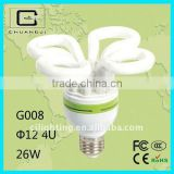 2700/6400k, advanced quality, competitive price, durable E27saving lamp