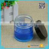 Face mask glass bottle/120ml cylinder high quality cream jar