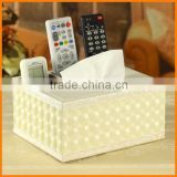 Creative Desktop Storage Box Multifunction Tissue paper tray pumping pumping napkin box remote control box PACKER Post