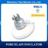 Wenzhou Yika High Voltage Disc Suspension Porcelain Insulator Line 11KV Porcelain Insulator