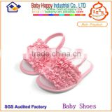 New style beautiful girl summer barefoot baby sandal