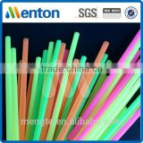 milk tea drinking straw/bubble drinking straw/neon plastic drinking straw