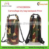 swimming waterproof bag with shoulder strap water sport rafting climbing camouflage waterproof dry bag