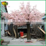China factory direct wholesale high quality artificial cherry blossom tree pink wedding fake flower tree