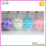 toweling mesh material bubble bath sponge
