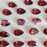 4*6mm drop pear cut price of a garnet stone