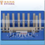 STCERA ivory alumina ceramic tube, High purity 95% 99% 99.5% alumina rod