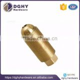 POP Supply brass turned part brass cnc lathe turning parts cnc metal machining part producer