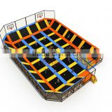 Baihe best play zone-large trampoline park with foam pit,pyramid,basketball hoop