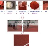 UV resistance MDI Glue for EPDM Granule/Polyurethane binder applied for EPDM Rubber granules-FN-A-15111702