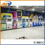 New design coin operated mini gift prize claw crane vending machine / popular toy crane game machine for sale