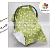 Wholesale Printing Customized Strap Infant Canopy Cotton Baby Car Seat Cover with Sun Protection                                                                         Quality Choice