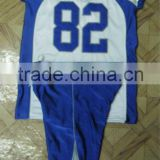 100% polyester tackle twill Custom fit and custom style American Football Uniform