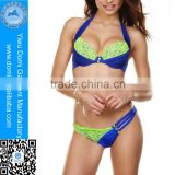 Hot sale!WHOLESALE boutique sexy lace women swimwear bikini,PUSH-UP hot super sexy bikini