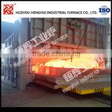 High performance gas Steel forging die heating forge furnace