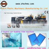 3 layers special T-die Polyethylene Air Bubble Film Wrap Machine from China Manufacturer