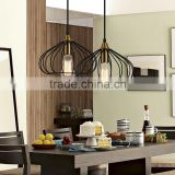 antique iron cage vintage industrial pendant lamp restaurant pendant lamp
