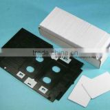 Blank white coated !Universal Printer PVC card ,PVC ID card Standard Credit card size for inkjet printers