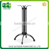 Wholesale furniture parts aluminum restaurant dinning table frame leg