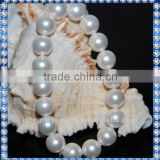 Perfect Round Elastic Sea Shell Pearl Bracelet BCM101