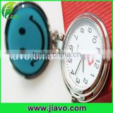 2015 best selling smile face watch for nurses with Japan movement