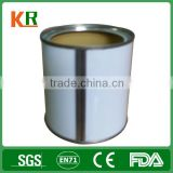 High quality wholesale whey protein powder tin can