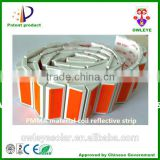 Roadside PMMA material coil reflective strip/Waterproof coil reflector used for guardrail