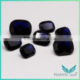 Wholesale Wuzhou Gem Processing 114# Deep Blue Synthetic Spinel Stone